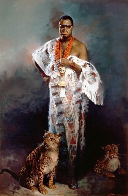Artists impression of Deinde Fernandez