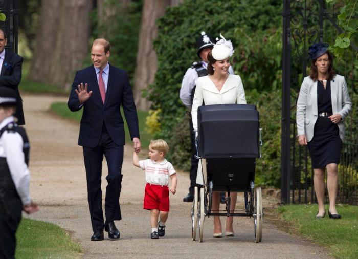 Vintage prams are back in fashion thanks to the royal endorsement. (Photo Credit: Matt Dunham/AP)