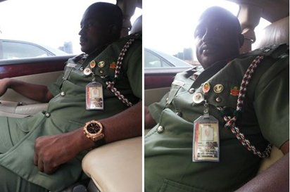 Aliyu Hussaini, the fake army general believed to be a member of Boko Haram insurgents | VAnguard