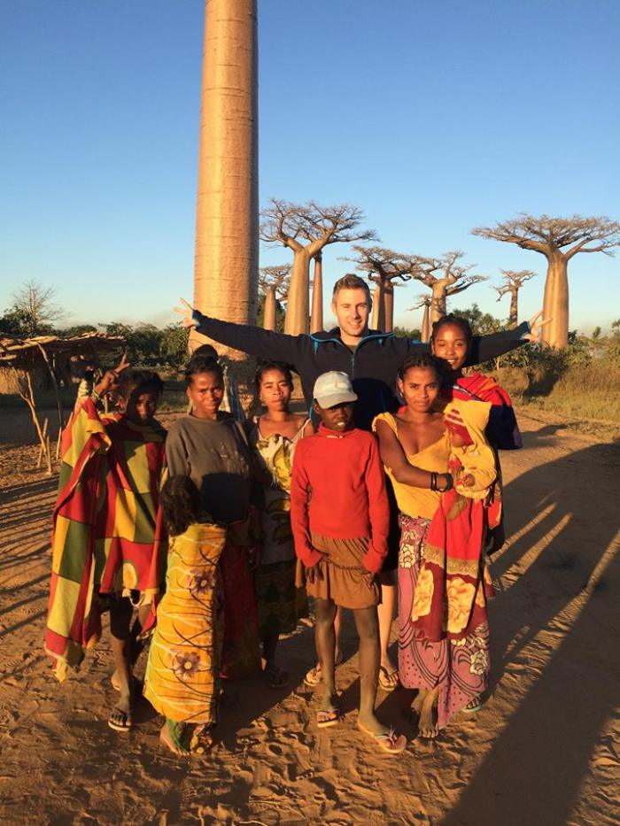 Johnny Ward in Madagascar