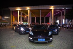 Chinese millionaire proposed to his girlfriend with a fleet of eleven cars | Tencent