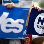 Scotland yes no referendum