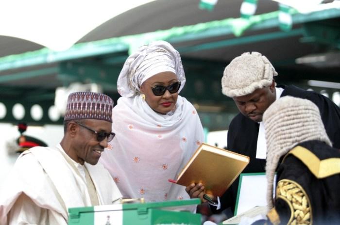 Muhammadu Buhari Aisha Buhari