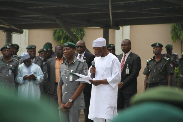 Comptroller-General of Customs, Col. Hameed Ali