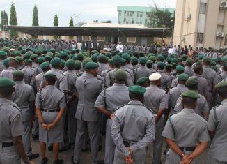 Nigeria Customs Services, Muhammed Aliyu, Police, Beret, Customs