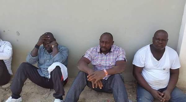 Thugs who allegedly attempted to assassinate Goodluck Jonathan |