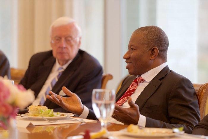 Former President Goodluck Jonathan visited The Presidential Precinct in Virginia, USA on November 9, 2015.   Flickr/The Presidential Precinct
