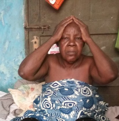 Mrs. Beatrice Oyesunle, the 75-year-old mother of the deceased twin brothers | Vanguard