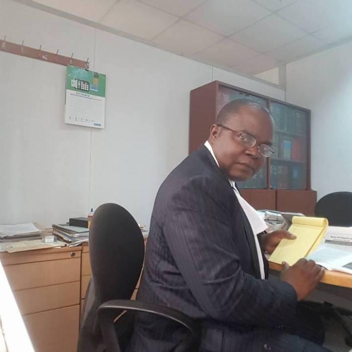Emeka Ugwuonye, Esq. pictured in his office   Facebook