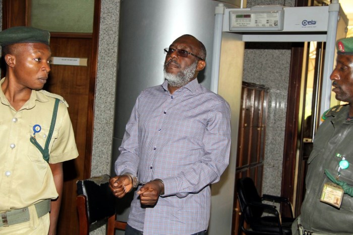 Olisa Metuh , Court, Wheelchair