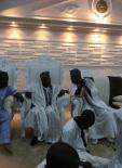 Olusegun Obasanjo prostrates before Ooni of Ife