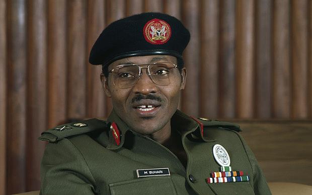 ca. 1983-1985, Nigeria --- General Muhammadu Buhari of Nigeria   William Campbell/Sygma/Corbis