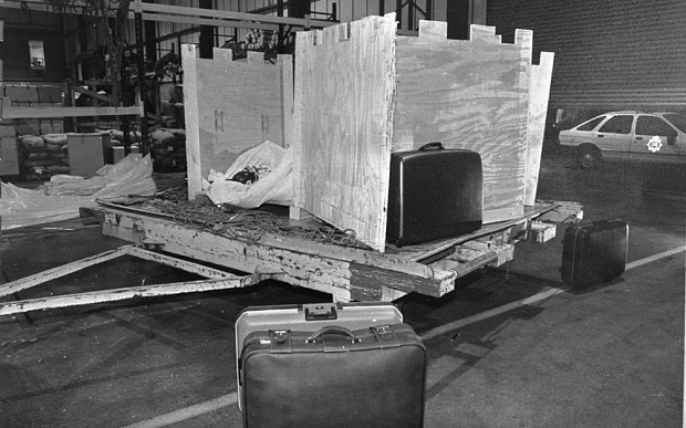 The crate in which Umaru Dikko was kidnapped in   Paul Armiger/The Telegraph
