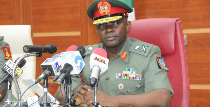 Nnamdi Igbos Nigeria's Chief of Defence Staff, General Gabriel Olonisakin DHQ Suicide bombers female