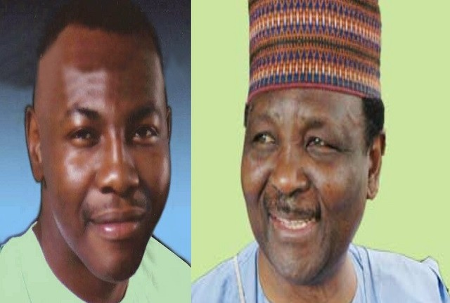Musa and Yakubu Gowon