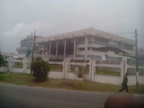 Explosion at CBN building in Calabar, Cross River State