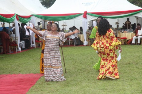 PDP women giving praise to the Almighty for grace granted the party in Rivers over the weekend. The party won the legislative rerun elections which held on March 19, 2016   Oraye St. Franklyn