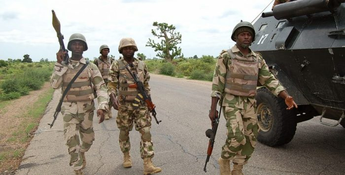 military checkpoints Boko Haram Troops, Militiamen, Bauchi, Arrest