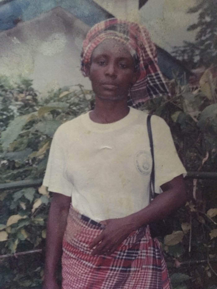 Exclusive photo of late Mrs. N'baby Nzugha, obtained by The Trent