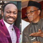 Apostle Johnson Suleman, general overseer of Omega Fire MInistries Nasir El-Rufai