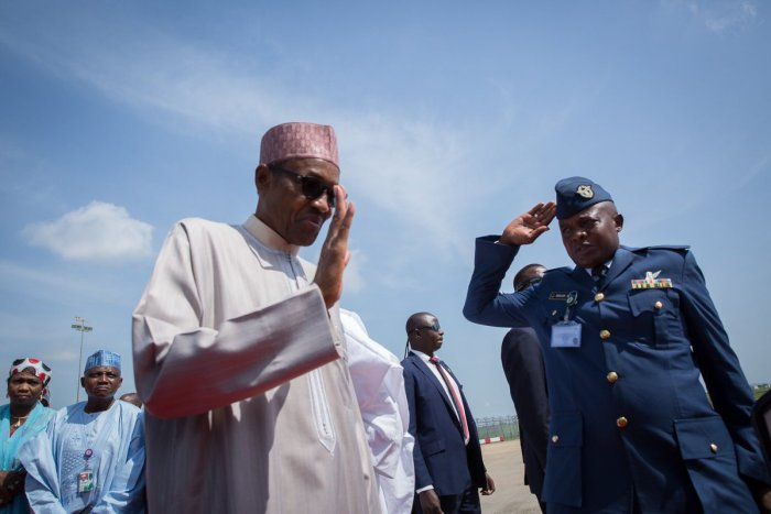 President Muhammadu Buhari leaves Abuja for London on a 10 -day medical leave to treat an ear infection. Sources say it is Ménière's Disease.