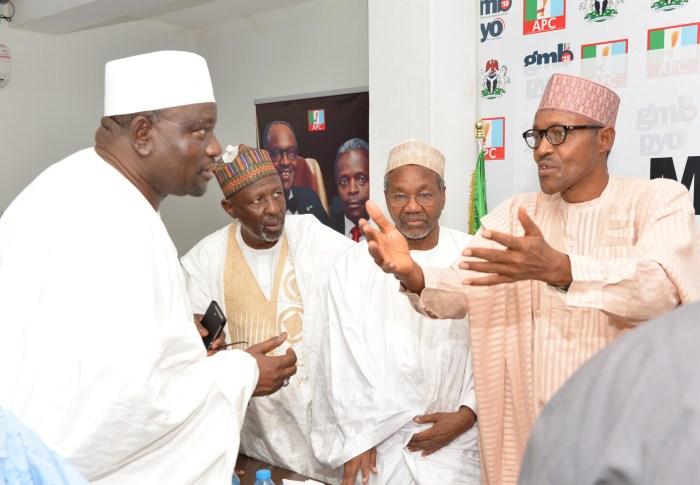 Mamman Daura Muhammadu Buhari Nigeria APC