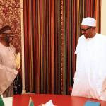 President Buhari receives Pastor Tunde Bakare, General Overseer of Latter Rain Assembly,Lagos at the Presidential Villa, Abuja on 19th August 2016 | State House Photo