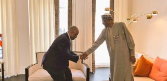 Senator Godswill Akpabio, President Muhammadu Buhari, APC, Goodluck Jonathan