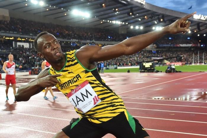 Usain Bolt, Ghasston Slimen,