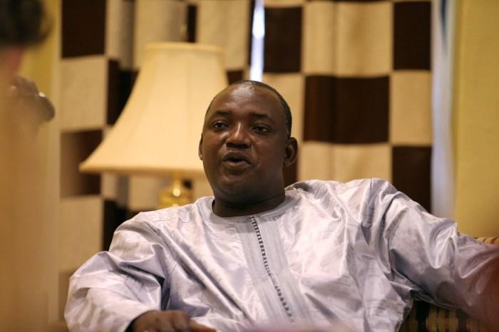 Adama Barrow Gambia
