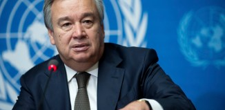 Antonio Guterres, pictured in Geneva, Switzerland