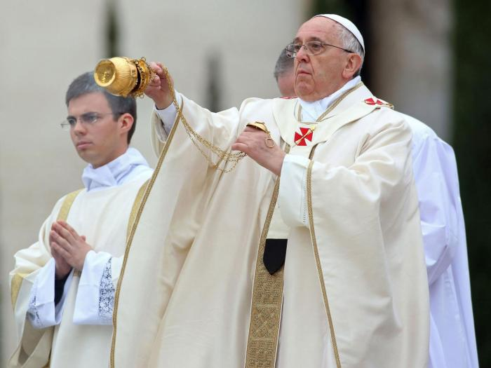 Pope Francis   Franco Origlia/Getty Images