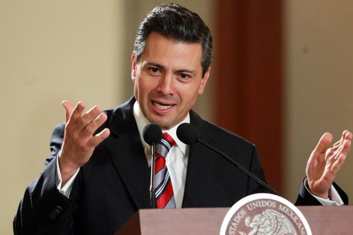 President Enrique Pena Nieto of Mexico
