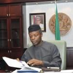 Executive Order Vice President of Nigeria, Professor Yemi Osinbajo   State House Photo