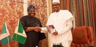 Books Dele Momodu visits Muhammadu Buhari