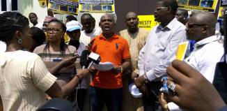 youth civil society Amnesty International solidarity rally