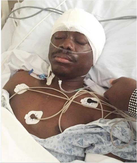 Julius Agwu pictured during his brain