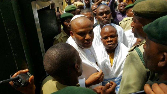 Pro Biafra agitators, Nnamdi Kanu Biafra IPOB Nigeria