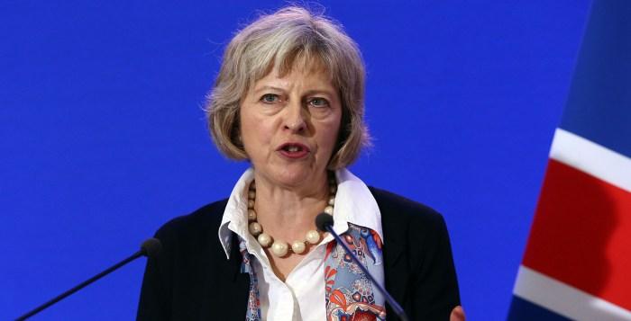 Nigeria London Theresa May UK Prime Minister