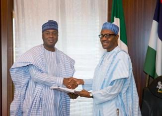 Senate President Bukola Saraki Muhammadu Buhari