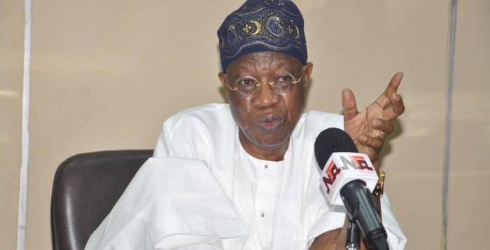 Zakzaky Nigeria Buhari Lai Mohammed graveyards looters