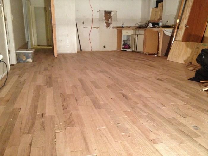 renovating  floors