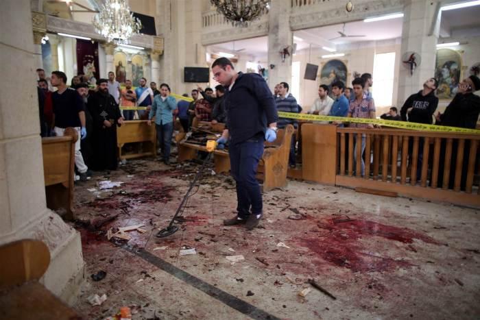 Egypt Palm Sunday Bombing