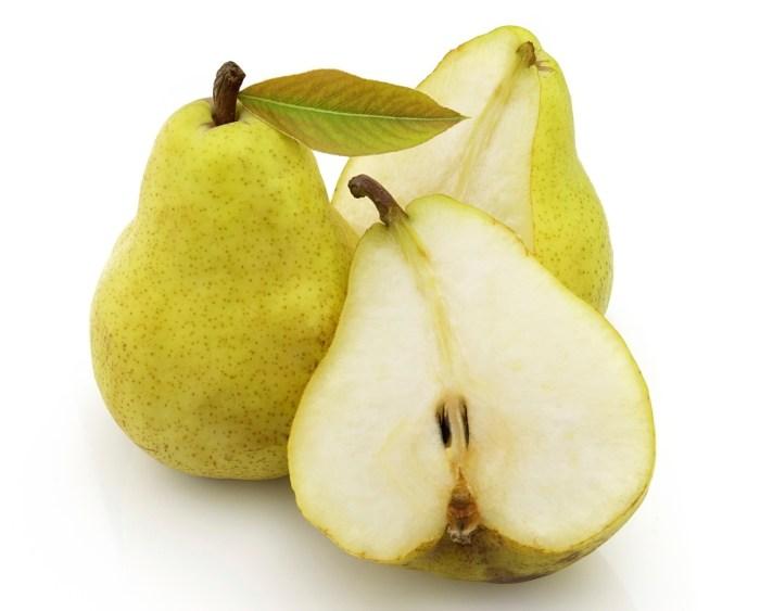 sweet pear healthy snacks