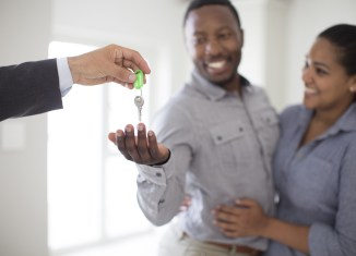 house or an apartment buying a property couple sales business fraud