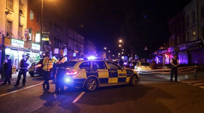London Underground Mosque Attack