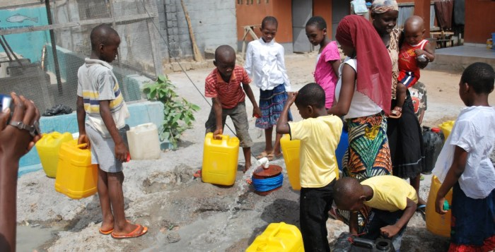water anawim House Orphanage Abuja