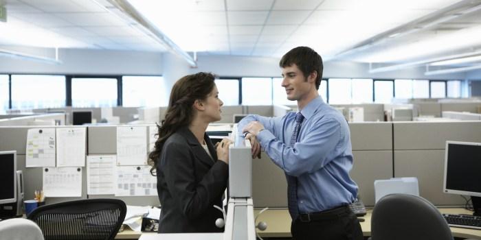 men couple office romance