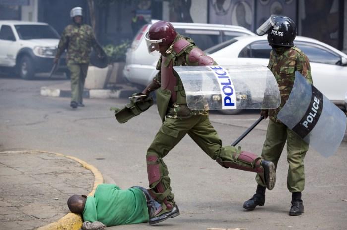 Kenyan Police Kenya