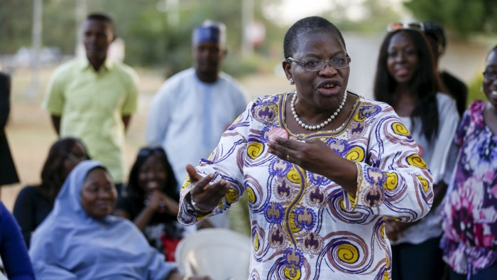 Oby Ezekwesili, founder of the Bring Back Our Girls movement